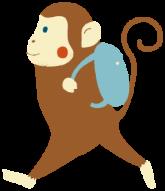 Monkey Moutainイラスト